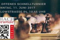 Arik Braun gewinnt 19. Offenes Schnellturnier