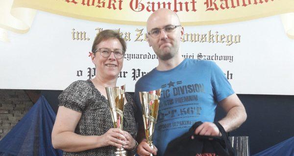 Schachfreunde in Radom (Polen)