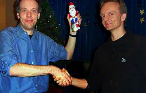 Rainer Polzin gewinnt das Weihnachtsturnier 2005