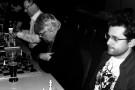 Cooles Shirt im Ralph-Steadman-Style: Aronian in Oberursel - Foto: SV Oberursel
