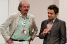 Stuart Conquest und Levon Aronian bei den London Chess Classics 2011, Foto: Ray Morris-Hill