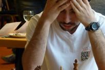 Hrant Melkumyan bei der Blitz-EM<br>– die Partien zum Nachspielen