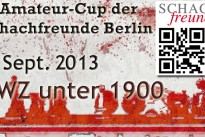 1. Amateur-Cup der Schachfreunde Berlin