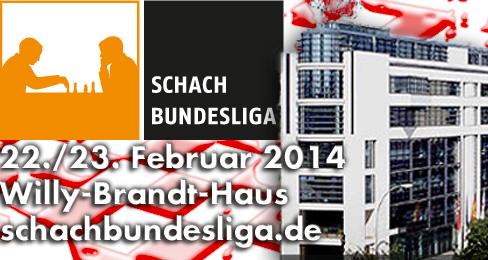 Schach-Bundesliga zu Gast im Willy-Brandt-Haus
