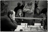 Starker Andrang im Willy-Brandt-Haus