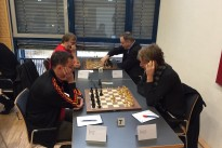 Knappe Sache gegen Erfurt