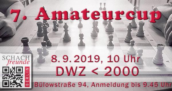 Peter Hintze gewinnt den 7. Amateurcup